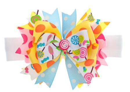 Candy Shoppe Sweets Baby Girl Funky Hair Bow Headband