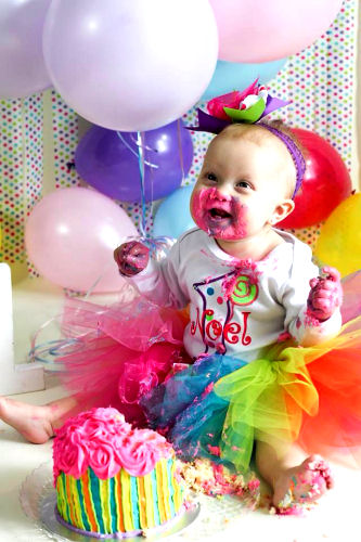 Sweetest Lollipop Bright Colorful Birthday Tutu Outfit