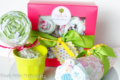 Oh Lollipop! Baby Girl Shower Gift Set