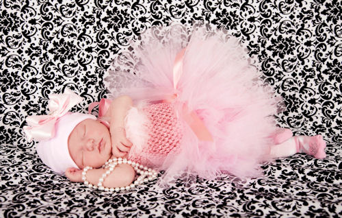 Princess Ella Sweet in Pink Couture Tutu Dress