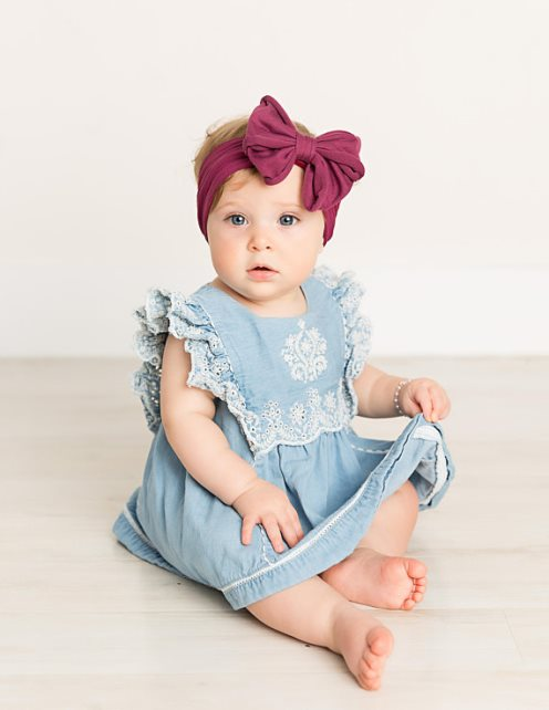 Choose Color - Large Messy Bow Headwrap Headband