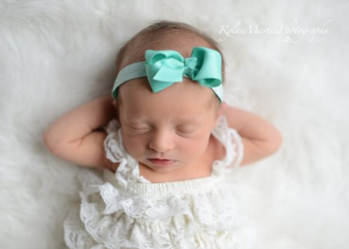Choose Color - Small Bow Elastic Baby Girl Headband