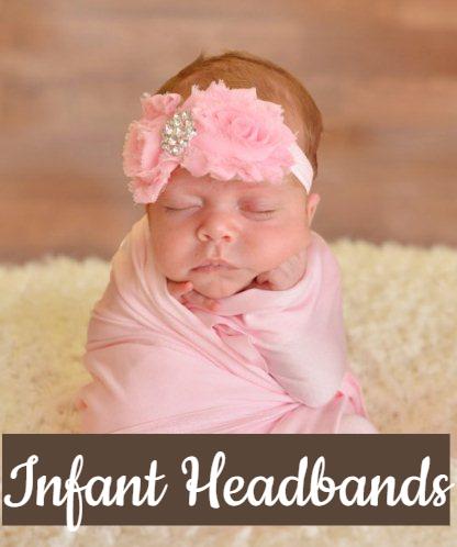 Infant Hair Bows & Headbands