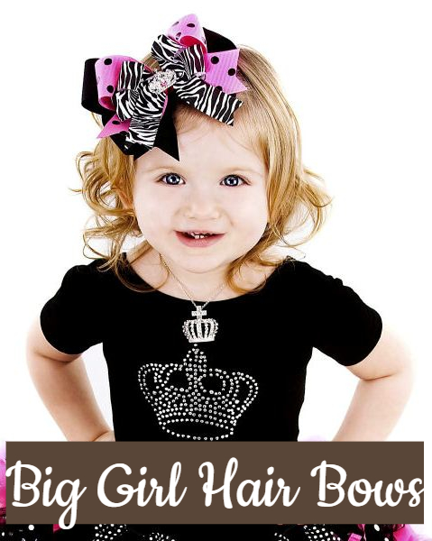 Big Girl Hair Bows