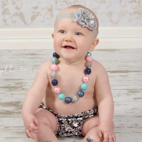 Bubblegum Pop Chunky Beaded Necklace