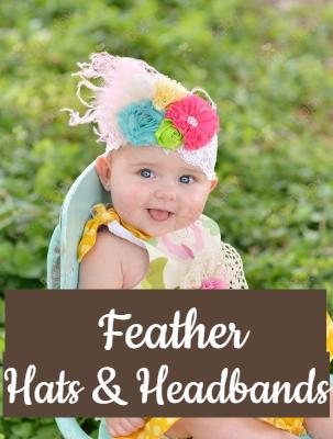 Feather Hats & Headbands