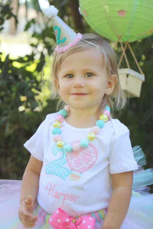 Hot Air Balloon Birthday Tutu Outfit