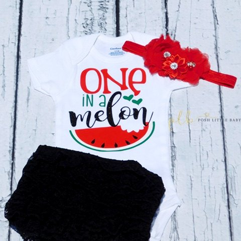 One In a Melon Baby Onesie Bodysuit