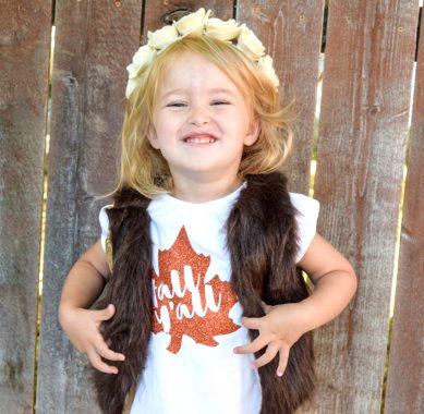 Chocolate Brown Faux Fur Furry Baby Girl Vest