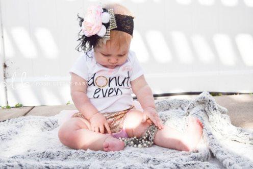 Oh Donut Even Baby Onesie Bodysuit