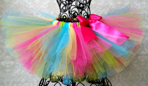 Candy Rainbow Colorful Tutu