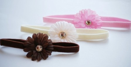 So Sweet Itty Bitty Flowerband Set