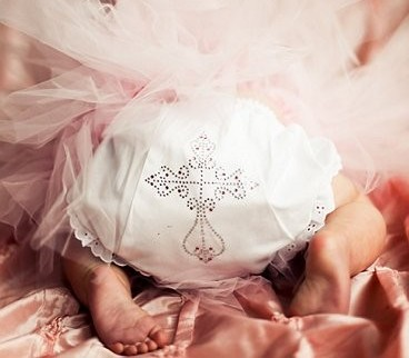 Bling Studded Cross Diaper Cover Bloomers