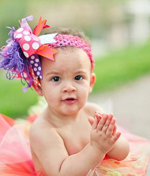 Popsicle Princess Over the Top Hair Bow Headband