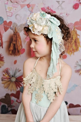 Frozen Vintage Flower Headband