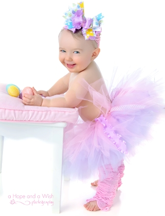 Lavender & Pink Whimsy Polka Dots Tutu