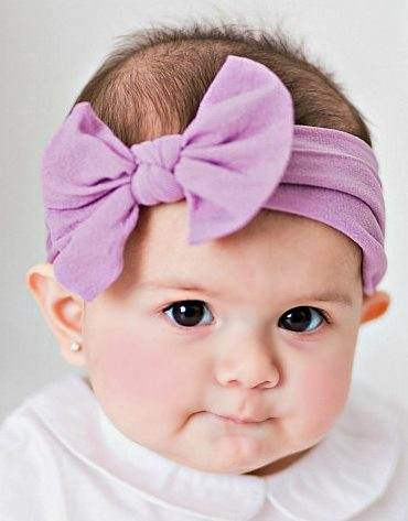 Nylon Messy Bow Headwrap Headband