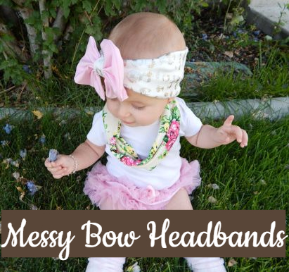 Messy Bow & Knotted Headwraps