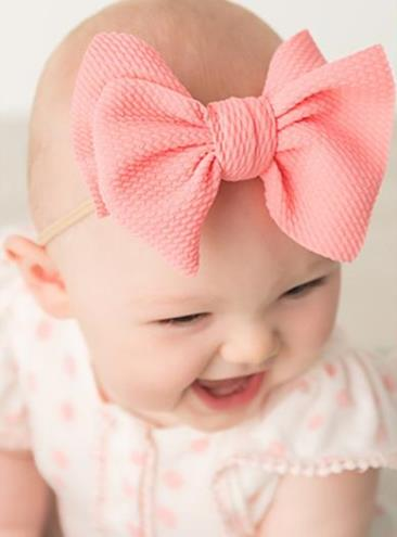 Choose Color - Skinny Big Bow Headwrap Headband