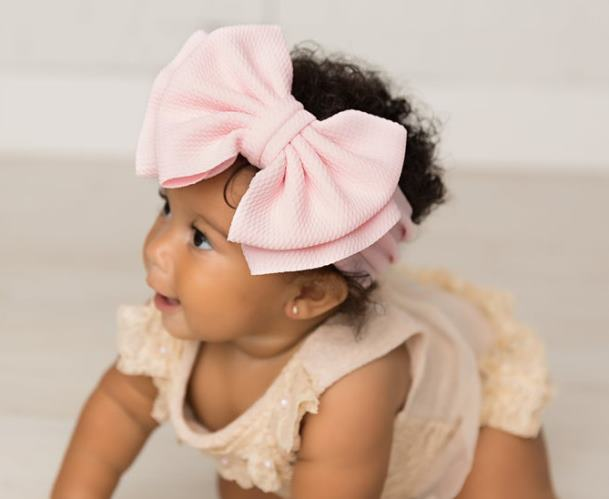 Choose Color - Big Bow Headwrap Headband