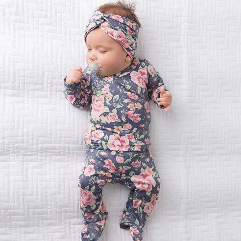 Brook Floral Two Piece Pants Set