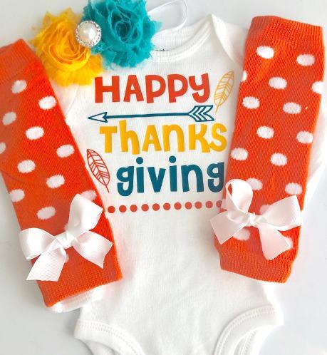 Happy Thanksgiving Bodysuit