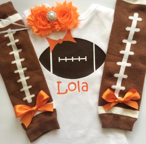 Choose Color - Personalized Football Outfit