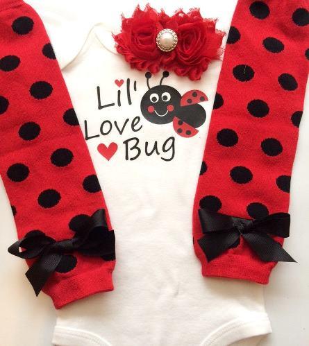 Lil' Love Bug Ladybug Bodysuit
