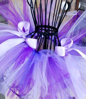 Shades of Lavender Poofy Tutu