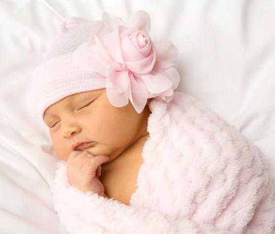 Our Sweet Rose Newborn Boutique Hospital Hat