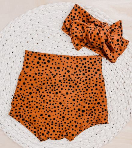Cider Dots Bummies & Headband Set