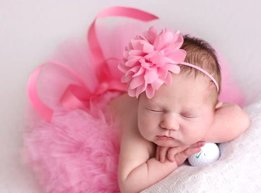 Taffy Pink Baby Girl Tutu Skirt