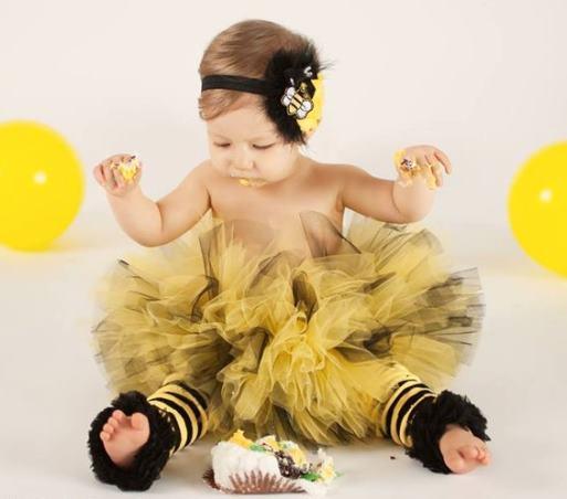 Bumble Bee Black & Yellow Tutu