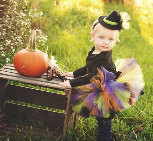Lil' Baby Halloween Witch Tutu