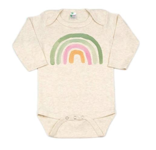Lucky Rainbow St. Patrick's Day Bodysuit Shirt