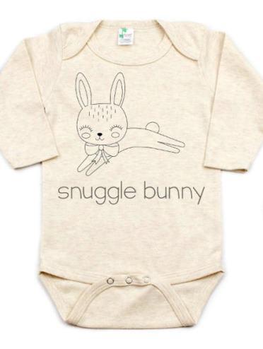 Snuggle Bunny Baby Girls Easter Bodysuit
