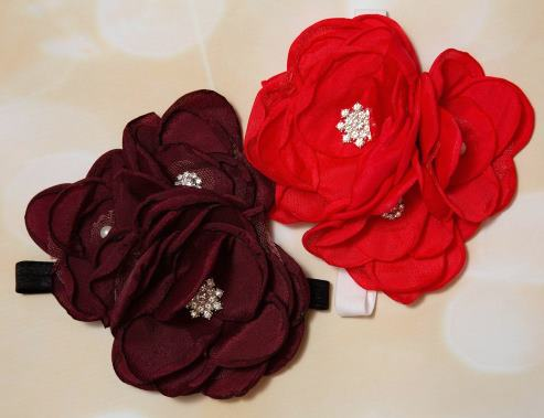 Choose Color - Large Dressy Flower Headband