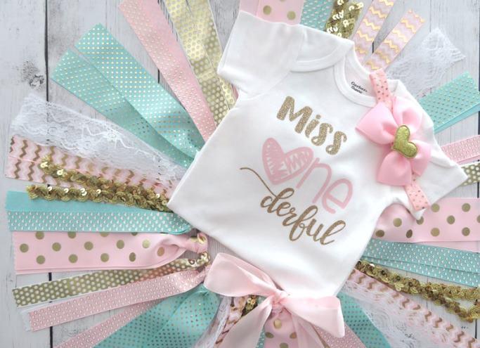 Miss ONEderful First Birthday Bodysuit