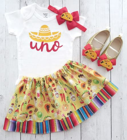 Fiesta First Birthday Outfit