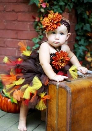 Autumn Splendor Fall Tutu Dress