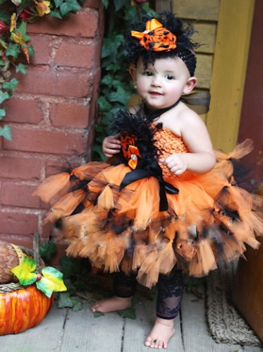 Halloween Extravagance Baby Couture Boutique Tutu Dress