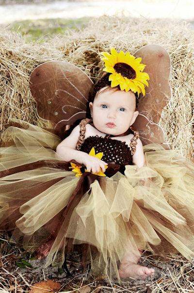 Sweet Little Sunflower Fall Tutu Dress