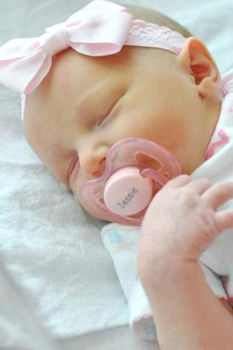 Baby Girls Personalized AVENT Ultra Air Pacifier