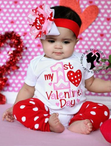 My 1st Valentine's Day Bodysuit