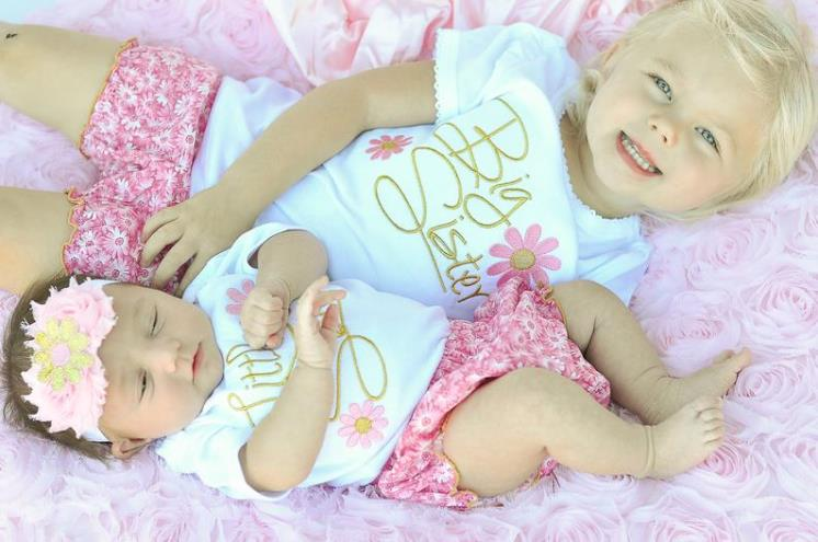 Big Sister & Little Sister Matching Outfits