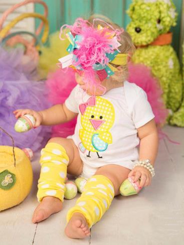 Little Chickie Easter Bodysuit