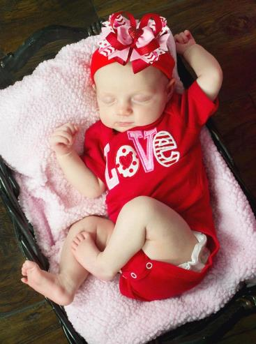 Valentine LOVE Red Bodysuit