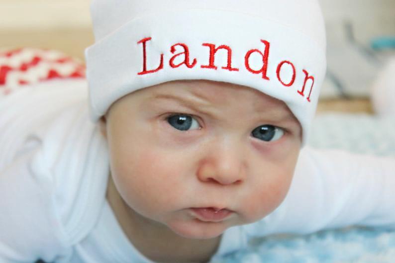 Boys Personalized Beanie Hat