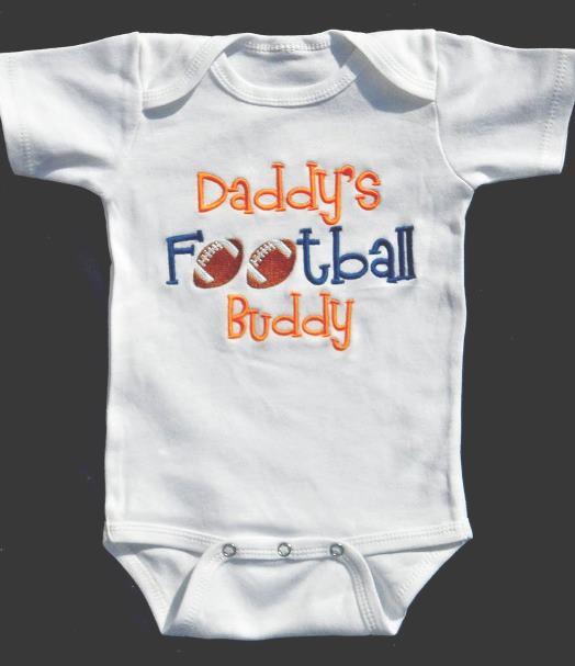 Boys Daddy's Football Buddy Bodysuit