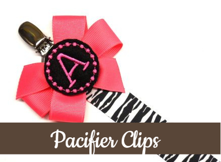 Pacifier Clips & Sets